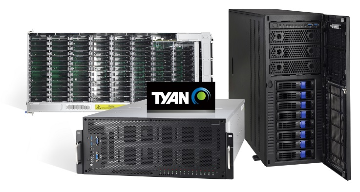 TYAN Powers AI and HPC with 2nd Gen Intel® Xeon® Scalable Processor-based Server Platforms at ISC 20