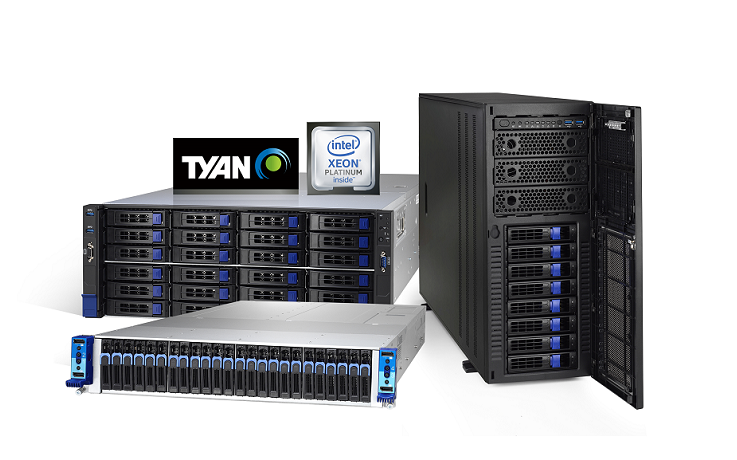 TYAN Showcases HPC, AI and Storage Server Platforms Featuring 2nd Gen Intel® Xeon® Scalable Processo