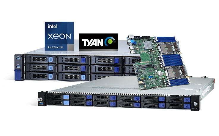 TYAN Uses New 3rd Gen Intel® Xeon® Scalable Processors to Drive Performance for AI and Cloud Data Ce